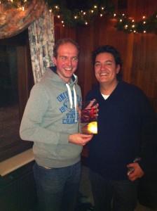 Winnaar 2013 PJ Plaisier met organisator Champ Bouwman